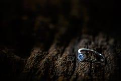 Cenny damy ` s pierścionek obrazy royalty free