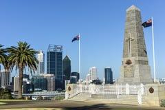 Cenotáfio do memorial de guerra dos reis Parque em Perth Fotografia de Stock