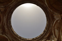 Cenotaaf, Nagina Masjid (moskee), chapaner, Gujarat Stock Foto's