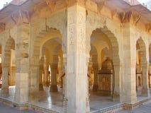 Cenotafi in Gaitore, Jaipur, Ragiastan, India fotografia stock