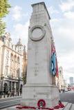 Cenotafiet, Whitehall Arkivfoto