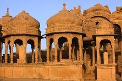 Cenotafio de Bada Bagh Imagenes de archivo