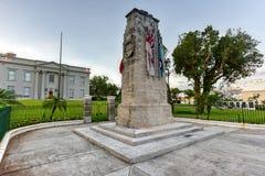 Cenotafio de Bermudas Imagenes de archivo