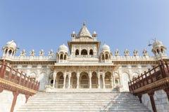 Cenotafio de Jaswant Thada en Jodhpur la India foto de archivo libre de regalías
