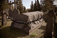Cenotafiumgrav i solen Arkivbilder