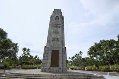 Cenotaph blisko Krajowego zabytku, Kuala Lumpur, Malezja obrazy stock