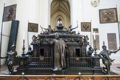 Cenotaph cesarz Louis IV Hans Krumpper en losem angeles catedral de Fotografia Royalty Free