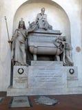 Cenotaph of Dante Alighieri Stock Photos