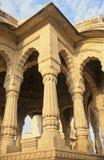Cenotaph di Jaisalmer Fotografia Stock