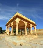 Cenotaph jain velho no jaisalmer india Imagens de Stock