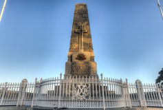 Cenotaph of the Kings Park War Memorial in Perth Stock Image