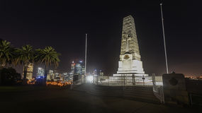 Cenotaph of the Kings Park War Memorial. In Perth, Australia  at dusk Royalty Free Stock Photography