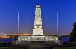 Cenotaph królewiątko parka Wojenny pomnik Zdjęcie Stock