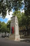 The Cenotaph in London. London, UK - September 24, 2006: The Cenotaph war memorial on Whitehall in London city stock photo