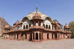 Cenotaph of Maharaja Bakhtawar Singh. In the City Palace complex in Alwar, Rajasthan, India Stock Image