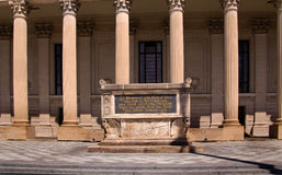 Cenotaph memorável da guerra de mundo 1 da Universidade de Yale Fotos de Stock