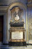 Cenotaph Pietro Marcellino Corradini kardynał Święty Romański kościół Obrazy Royalty Free