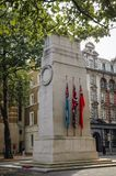 Cenotaph w Londyn fotografia royalty free