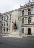 The Cenotaph. War memorial in Whitehall London stock image