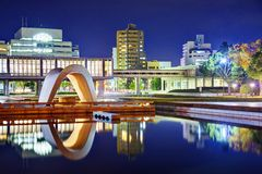 Hiroshima Peace Memorial Park Stock Image