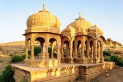 Cenotaphs of Bada Bagh, King's memorials Royalty Free Stock Photos