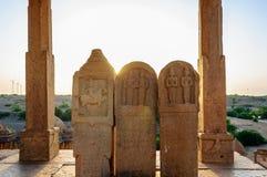 Cenotaphs of Bada Bagh, King's memorials Stock Photos
