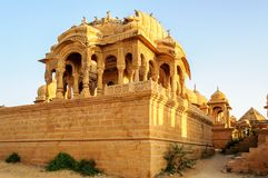 Cenotaphs of Bada Bagh, King's memorials Royalty Free Stock Image