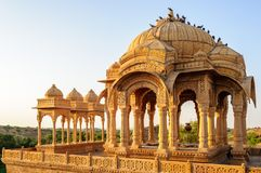Cenotaphs of Bada Bagh, King's memorials Royalty Free Stock Images