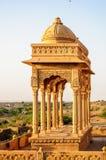 Cenotaphs of Bada Bagh, King's memorials Stock Photography