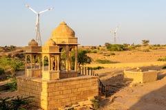 Cenotaphs of Bada Bagh, King's memorials Stock Photo