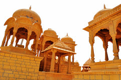 Cenotaphs in the desert kingdom Royalty Free Stock Image