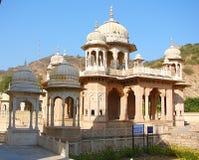 Cenotaphs in Gaitore, Jaipur, Rajasthan, India Stock Images