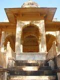 Cenotaphs in Gaitore, Jaipur, Rajasthan, India Royalty Free Stock Images