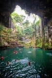 Cenote imagem de stock
