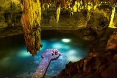 Cenote Lizenzfreies Stockfoto