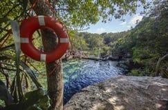 Cenote Azul em México 11 fotos de stock royalty free