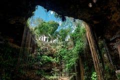 Cenote Ecoturistico Ik-Kil image libre de droits