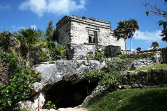 Cenote house royalty free stock images