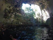 Cenote Ik Kil image libre de droits