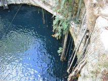 Cenote ik-kil στοκ φωτογραφίες