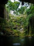 Cenote Ik Kil - Yucatan, Mexico Stock Photography