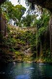 Cenote Ik Kil - Yucatan, Mexico Royalty Free Stock Images