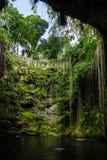 Cenote Ik Kil - Yucatan, Mexico Stock Photo