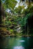 Cenote Ik Kil - Yucatan, Mexico Royalty Free Stock Photos