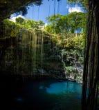 Cenote Ik Kil - Yucatan, Mexico Stock Images