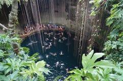 Cenote IL Kil Στοκ Φωτογραφίες