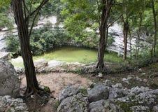 Cenote sagrado, Chichen Itza imagen de archivo
