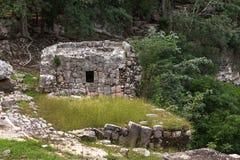 Cenote sagrado Chichen Itza, península do Iucatão, México Fotografia de Stock