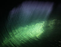 Cenote Strahlen der Leuchte Stockbilder