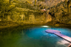 Cenote Stock Photo
